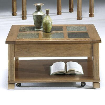 Rustic Ridge Coffee Table with Lift-Top