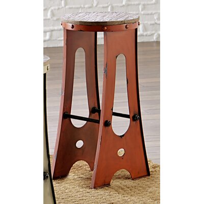 Zen 30 Bar Stool Finish: Orange