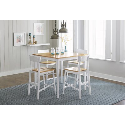 Christy Counter Height 5 Piece Dining Set