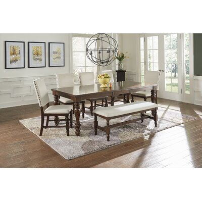 Yorkshire Extendable 7 Piece Dining Set