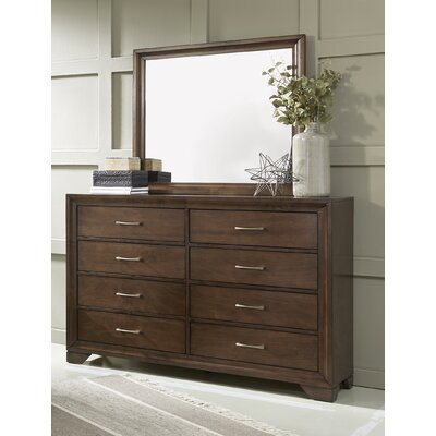 August 8 Drawer Dresser with Mirror