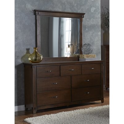 Batten 7 Drawer Standard Dresser with Mirror