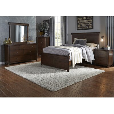 Batten Panel Customizable Bedroom Set
