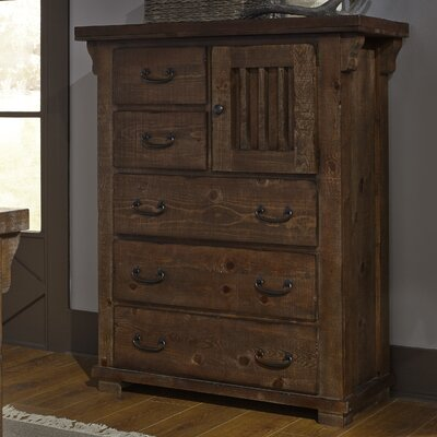 Buchanan 5 Drawer Combo Chest