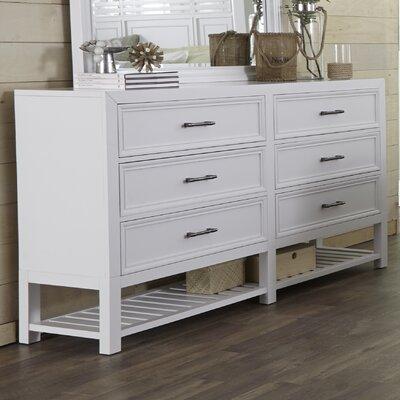 Lansing 6 Drawer Double Dresser