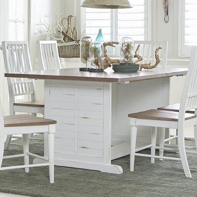 Galliano Oak Top Dining Table