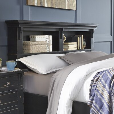 Jenifry Bookcase Headboard Size: King