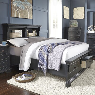 Jenifry Storage Platform Customizable Bedroom Set