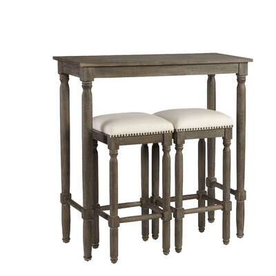 Abree 3 Piece Pub Table Set