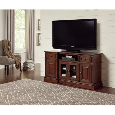 Albertyne TV Stand Color: Cherry, Width of TV Stand: 72 W