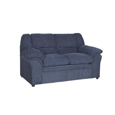 Mitesh Loveseat Upholstery: Indigo