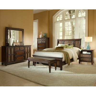 Kingston Isle Panel Customizable Bedroom Set