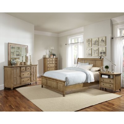 Kingston Isle Panel Configurable Bedroom Set