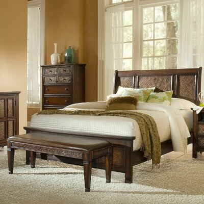 Kingston Isle Panel Bed