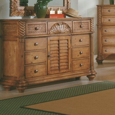 Paradiso 8 Drawer Combo Dresser