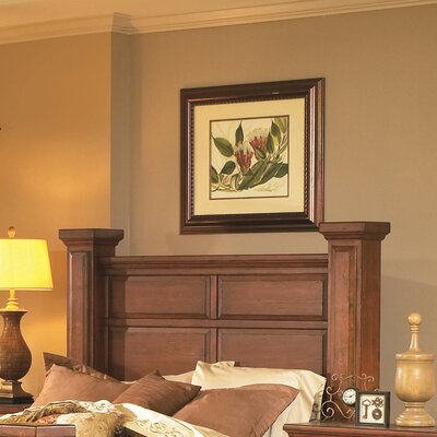 Torreon Panel Headboard Finish: Antique Pine, Size: King