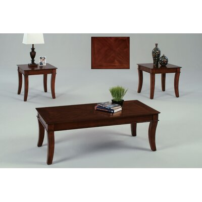Corona 3 Piece Coffee Table Set