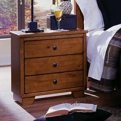 Diego 3 Drawer Nightstand