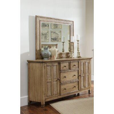 Progressive Furniture Kingston Isle 4 Drawer Dresser - Finish: Sand