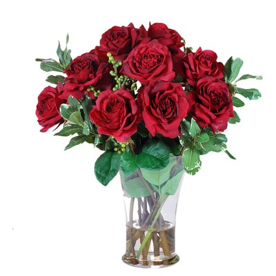 Roses in Vase JSB168-RD