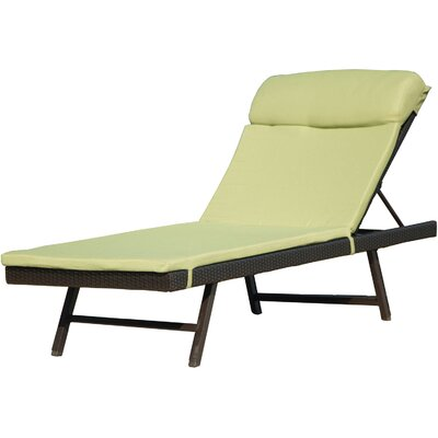 Orleans Chaise Lounge with Cushion