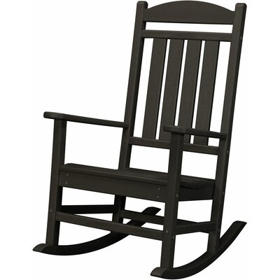 Pineapple Cay Rocking Chair Finish: Black