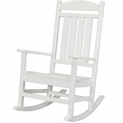 Pineapple Cay Rocking Chair Finish: White