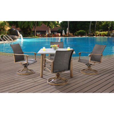 Hermosa 5 Piece Dining Set