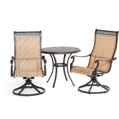 Manor 3 Piece Bistro Set