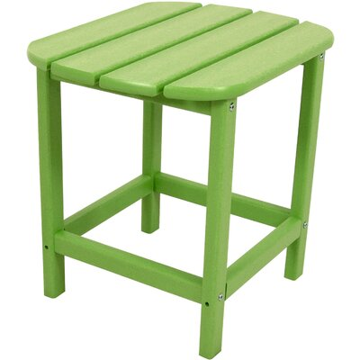 Grafton All-Weather End Table Color: Lime