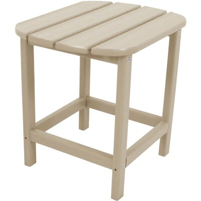 Grafton All-Weather End Table Color: Sand
