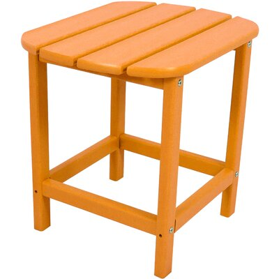 All-Weather End Table Finish: Tangerine