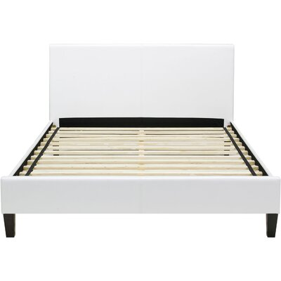 Lewter Bed Frame Size: Twin, Color: White