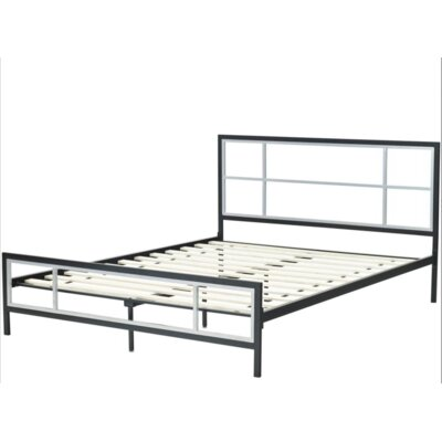 Lincoln Platform Bed Frame Size: Twin