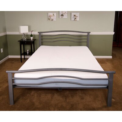 Midtown Platform Bed Frame Size: Queen