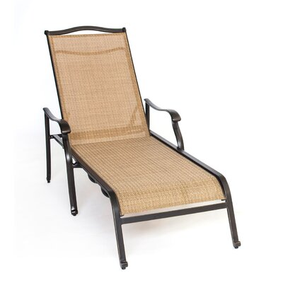 Barryton Oil Rubbed Bronze Chaise Lounge Chair