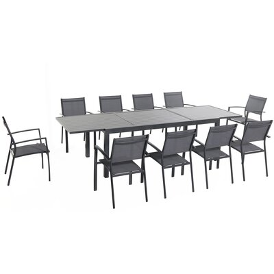 Naples 11 Piece Dining Set