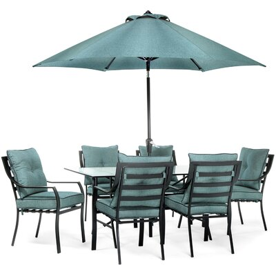 Lavallette 8 Piece Dining Set