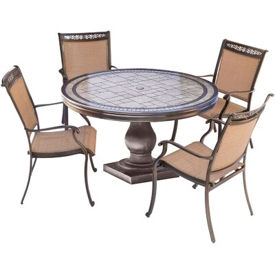 Fontana 5 Piece Outdoor Dining Set