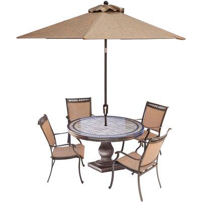 Fontana 5-Piece Outdoor Dining Set