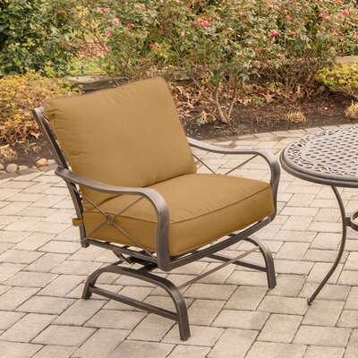 Rhonda 3 Piece Rockers Deep Seating Group with Cushions