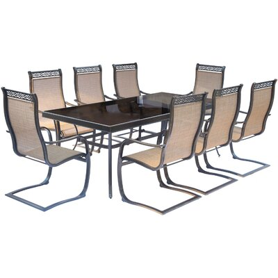 Monaco 9 Piece Dining Set
