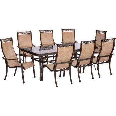 Monaco 9 Piece Dining Set