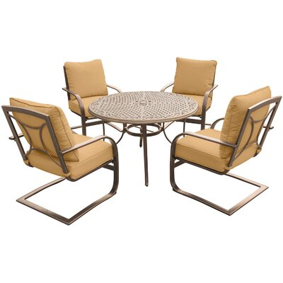Summer Nights 5 Piece Dining Set with Cushions