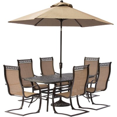 Manor 7 Piece Dining Set