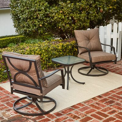 Palm Bay 3 Piece 2 Person Deep Seating Group with Cushions