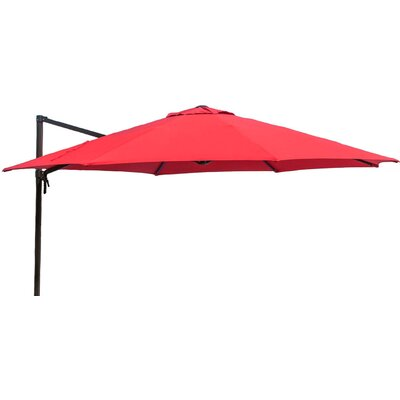11 Cantilever Umbrella Fabric: Red