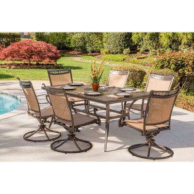 Fontana 7 Piece Dining Set