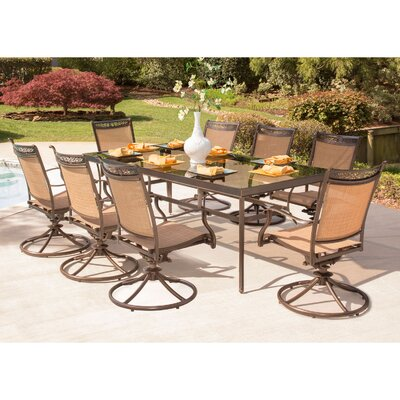 Fontana 9 Piece Dining Set