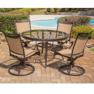 Fontana 5 Piece Dining Set